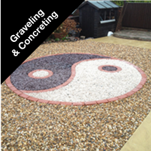 Graveling and Concreting